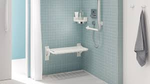 grab bars and shower seats