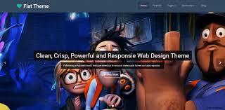 best 75 new u0026 free flat design wordpress themes web net