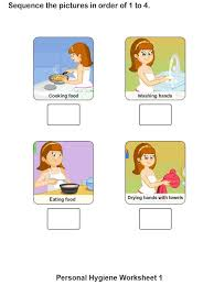personal hygiene worksheets for kids collection 1 8 personal