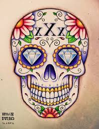 sugar skull designs 1000 images about straightedge