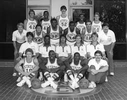 1980 1981 n c state university basketball team raleigh n c