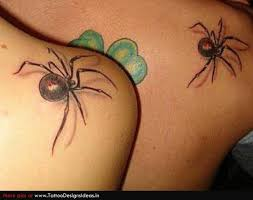 3d spider tattoo design page real photo pictures images and