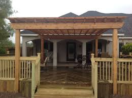 How To Build A Covered Pergola by Patio Covers D U0026c Fence Co Inc Corpus Christi Tx