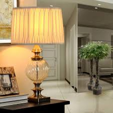 Livingroom Lamps by Clear Glass Table Lamps For Living Room Home Blogar