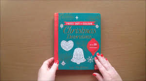 press out and colour christmas decorations by kate mclelland