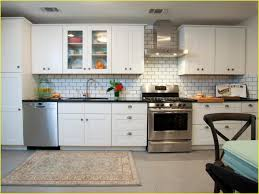 tiles backsplash impressive white glass subway tile kitchen