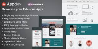 themes for mobile apps appdev v3 1 1 1 mobile app showcase wordpress theme premium