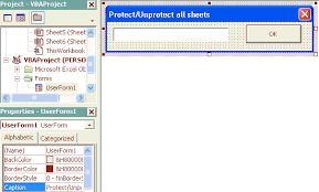 excel password protect unprotect all excel worksheets in one go