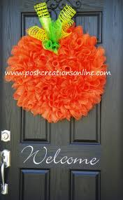 210 best halloween mesh wreaths images on pinterest holiday