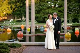 St Louis Botanical Garden Wedding Missouri Botanical Gardens Gladney Garden Wedding