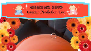 wedding ring test boy or girl wedding ring gender test angie lowis