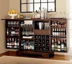 Folding Home Bar Cabinet Folding Bar Cabinet Foter