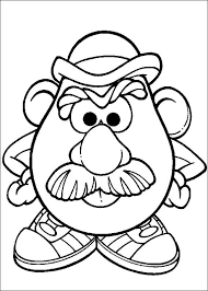 kids n fun co uk 57 coloring pages of mr potato head