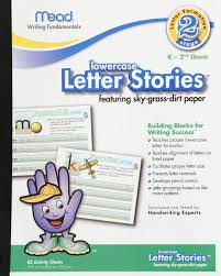 raised line writing paper classroom paper shop amazon com mead letter stories lower case letters 10 x 8 inches 45 pages