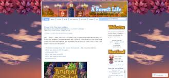 a forest life amy u0027s animal crossing blog