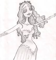 image gallery of corpse bride coloring pages
