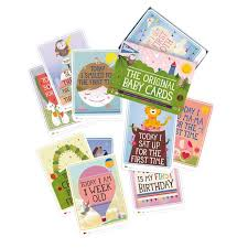 baby cards milestone the original baby cards the original shop your