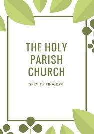 church programs template customize 61 church program templates online canva