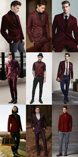 men u0027s fashion guide 2014 autumn winter ways to wear burgundy