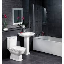 bathroom designs light brown ceramic wall panel glass door shower large size bathroom designs black wall panelling and floor tile with white pedestal