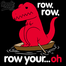 Funny T Rex Meme - row row row your oh sad t rex t rex s short arms know your meme