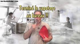 vapoter au bureau fini de vapoter au bureau humour et actualité française