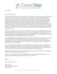 ideas of sample recommendation letter for medical job for your