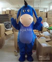 eeyore donkey winnie pooh friend mascot costume epe