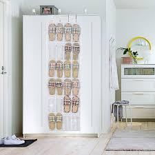 Closet Door Shoe Storage Begrit The Door Shoe Rack Organizer Hanging Shoe Bag Shoe