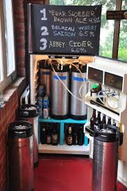 Mini Fridge Kegerator Best 25 Keg Fridge Ideas On Pinterest Beer Fridge Man Cave