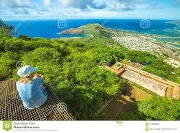 Hawaii The Traveler images Koko head panorama stock photo image of america scenic 125006858 jpg