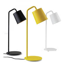 aliexpress com buy hide table lamp minimalist white black yellow