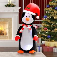 4 ft waterproof inflatable penguin christmas decoration seasonal