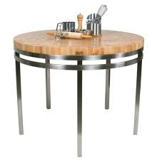 dining tables round butcher block dining table butcher block
