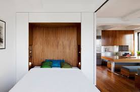 built in bed small apartments interior design solution