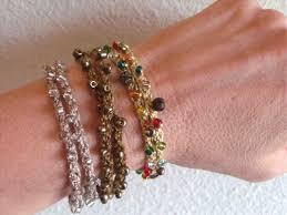 crochet bracelet diy images Crochet bracelet crochet love bracelet diyrhdesperatehouselifecom jpg