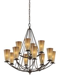 12 Bulb Chandelier F2605 8 4mbz 12 Light Multi Tier Chandelier Mocha Bronze