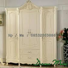 lemari pakaian 4 pintu mebel jepara mebel jati furniture jepara