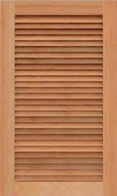 Custom Wood Cabinet Doors by Cabinet Doors Custom Louvered Wood Cabinet Doors