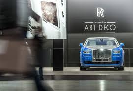 roll royce fenice rolls royce presents art deco ghost and phantom cartype