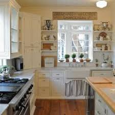 eclectically fall home tour white cottage kitchens white
