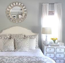 Next White Bedroom Curtains Looking Sunburst Mirror In Bedroom Traditional With Mirror