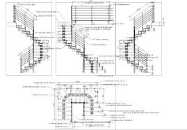 details metallic staircase 2d in autocad drawing bibliocad details metallic staircase 2d dwgautocad drawing