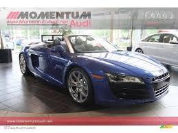 Audi R8 Jet Blue - 2012 sepang blue pearl effect audi r8 spyder 5 2 fsi quattro