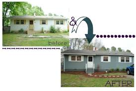 split level house exterior remodel before and after american hwy