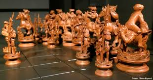 wooden chess set dated back to 1550 travel photo report
