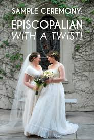 planning a wedding ceremony sle wedding ceremony episcopalian with a personal twist a