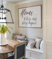 Best  Eat Sign Ideas On Pinterest Rustic Kitchen Decor Big - Dining room walls