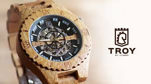 troy handcrafted wood with visible skeleton by lumbr