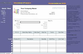 Excel Invoice Template Free 9 Invoice Template Excel Free Ledger Paper
